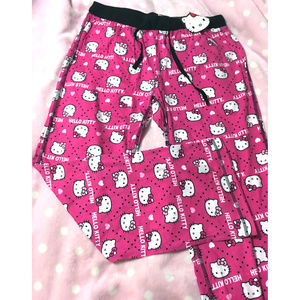 NWT Sanrio Hello Kitty Pajama PJ Lounge Pants